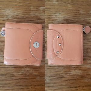 Cole Haan genuine leather trifold wallet